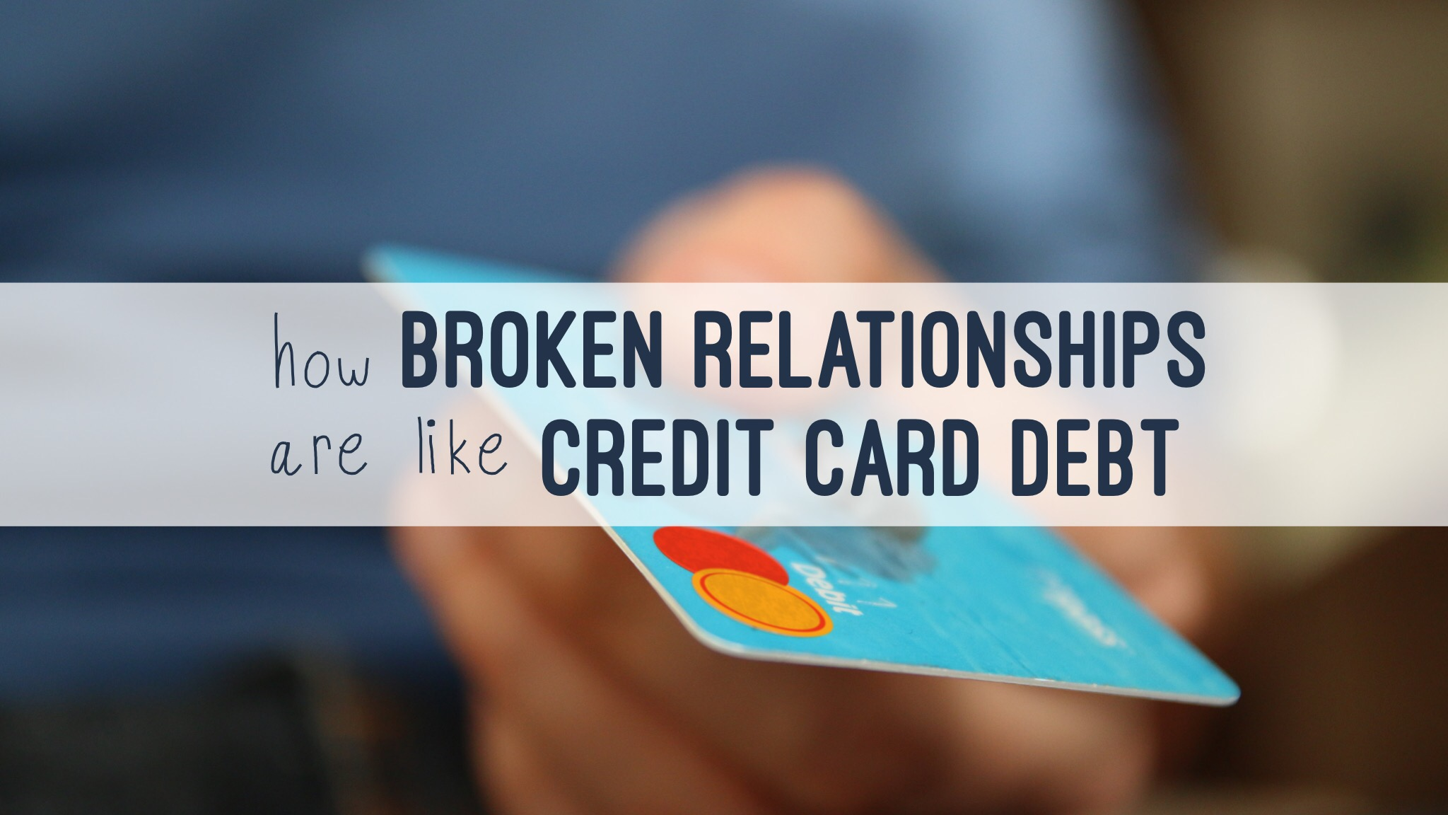 dating someone with credit card debt By 2017, credit card debt in america amounted to more than $1023 trillion this number is divided up among 126 million us households and accounts for 267% of total us consumer debt¹ people with credit card debts had average balances of $3,137 while the average household debt is just over $8,000² however, for households that carry debt, the average debt.